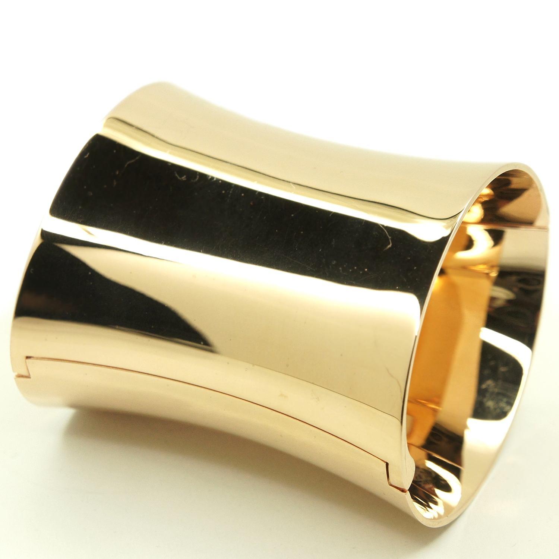 calvin klein armspange armreif ellipse vergoldet. Black Bedroom Furniture Sets. Home Design Ideas