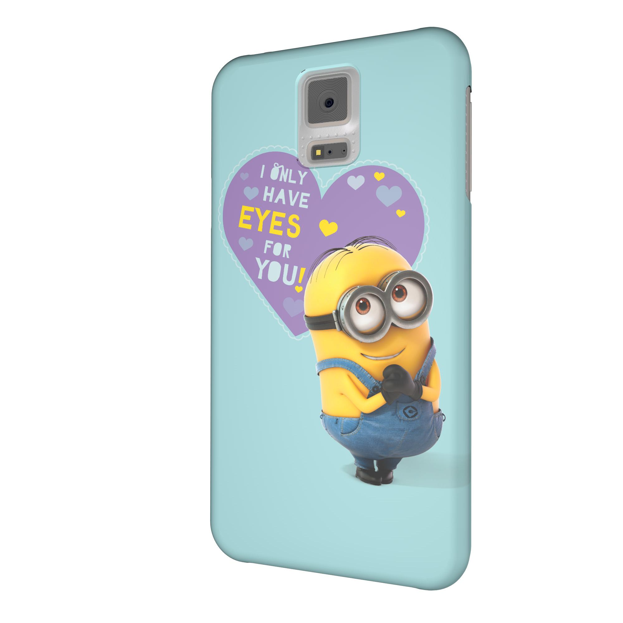 minions handy h lle cover case ich einfach unverbesserlich samsung galaxy s5 neu ebay. Black Bedroom Furniture Sets. Home Design Ideas