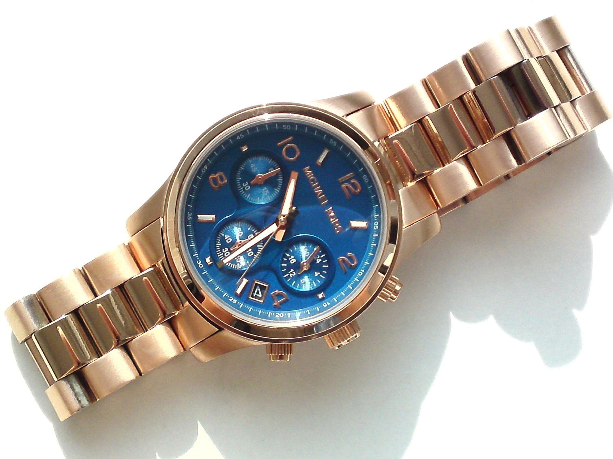 michael kors mk5940 damen armband uhr chronograph. Black Bedroom Furniture Sets. Home Design Ideas