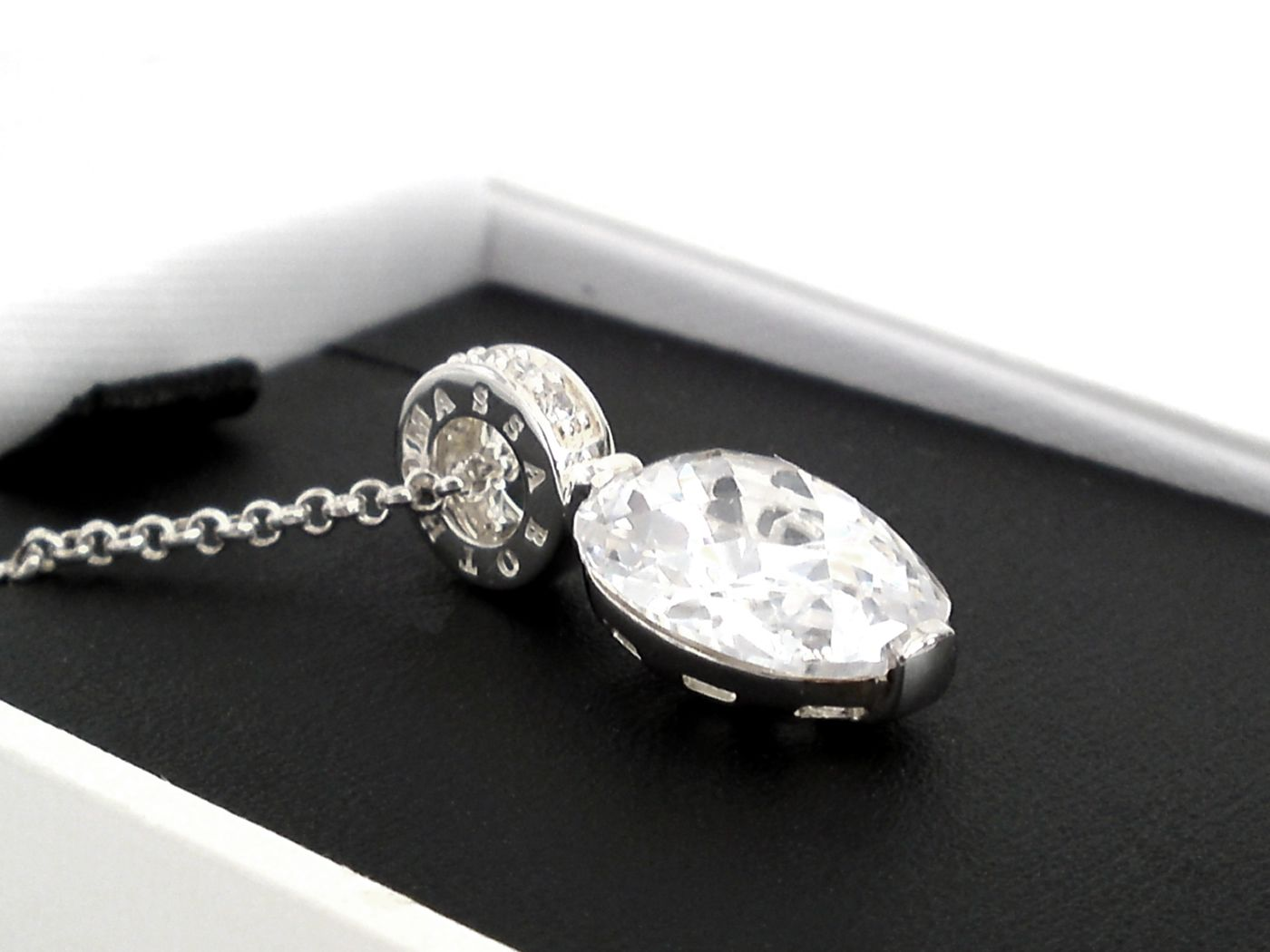 thomas sabo schmuck kette colliers auswahl perle zirkonia herz medallion ebay. Black Bedroom Furniture Sets. Home Design Ideas